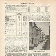 Coleccionismo: LAMINA ESPASA 27365: MINISTERIO DE FOMENTO EN CARACAS. Lote 125853687