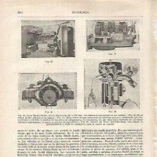 Coleccionismo: LAMINA ESPASA 27416: MOTOR DIESEL-BERLIET. Lote 125855286