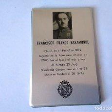 Coleccionismo: 110-ANTIGUA AGENDA TELEFONICA LITOGRAFIADA FRANCISCO FRANCO.. Lote 125966715