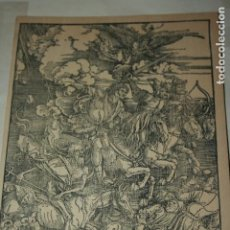 Coleccionismo: TABLA DE MARQUETERÍA IMAGEN DE DON QUIJOTE PUBLICIDAD VALIUM ROCHE. MIDE 30 X 15 CMS. Lote 126093151