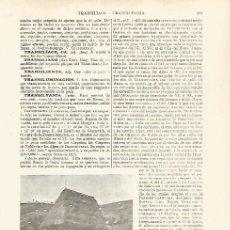 Coleccionismo: LAMINA ESPASA 27580: VIVIENDA DE CAMPESINOS EN TRANSILVANIA. Lote 126499799