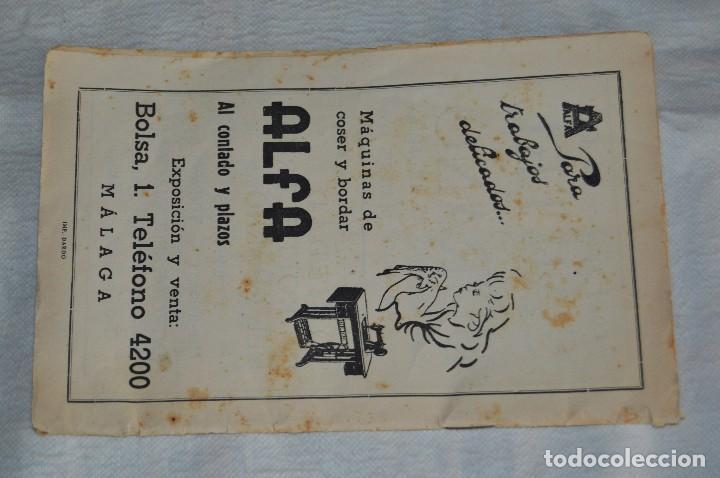 Coleccionismo: IMPRESIONANTE PROGRAMA - Málaga, Feria de Agosto de 1948 - Precioso - Publicitaria Diana - envío 24h - Foto 3 - 126714323