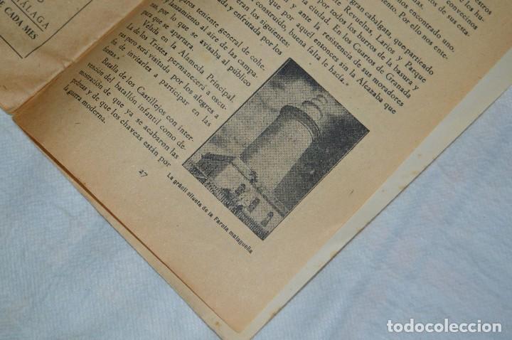 Coleccionismo: IMPRESIONANTE PROGRAMA - Málaga, Feria de Agosto de 1948 - Precioso - Publicitaria Diana - envío 24h - Foto 13 - 126714323