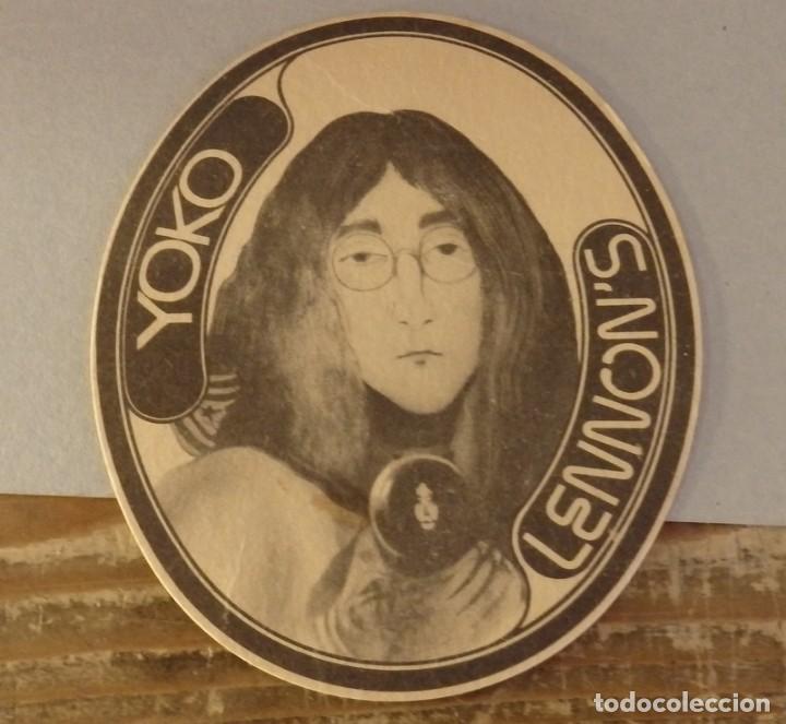 BILBAO, ANTIGUO POSAVASO SALA DE FIESTAS YOKO LENNON'S, MUY RARO (Coleccionismo - Varios)