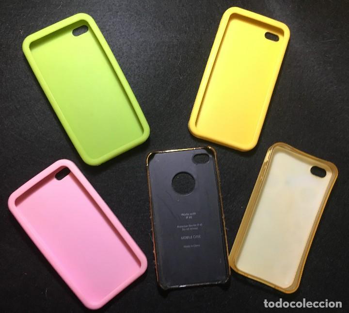 Coleccionismo: Lote de 5 carcasas para Iphone 4 - Foto 2 - 126944471