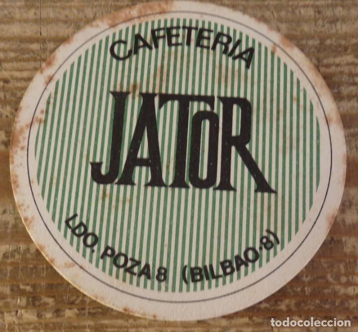 BILBAO, ANTIGUO POSAVASO CAFETERIA JATOR (Coleccionismo - Varios)