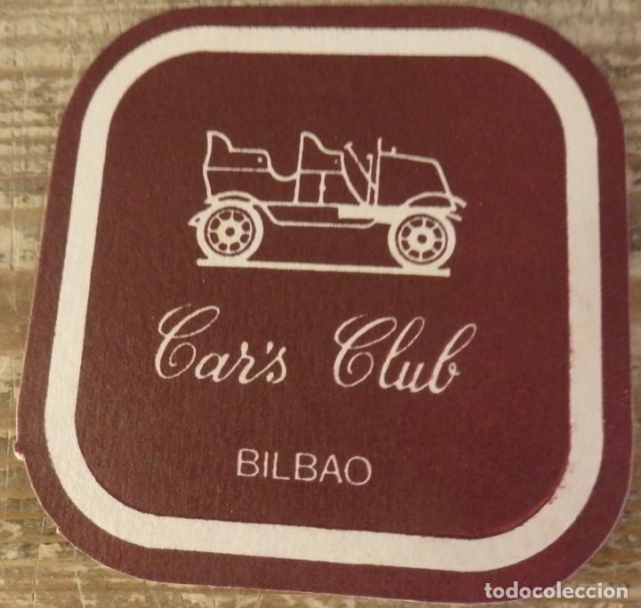 BILBAO, ANTIGUO POSAVASO CAR`S CLUB (Coleccionismo - Varios)