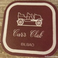 Coleccionismo: BILBAO, ANTIGUO POSAVASO CAR`S CLUB. Lote 127109551
