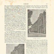 Coleccionismo - LAMINA ESPASA 28301: Biblioteca de Caracas Venezuela - 127149883