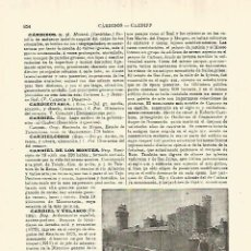 Coleccionismo - LAMINA ESPASA 28322: Castillo de Cardiff - 127151414
