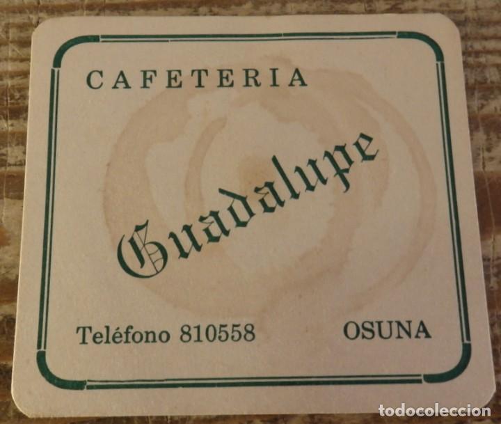 OSUNA, SEVILLA, ANTIGUO POSAVASO CAFETERIA GUADALUPE (Coleccionismo - Varios)