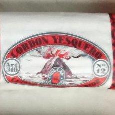 Coleccionismo: CORDON YESQUERO (MECHA DE YESCA PARA MECHERO), MARCA VOLCAN. Lote 172377492