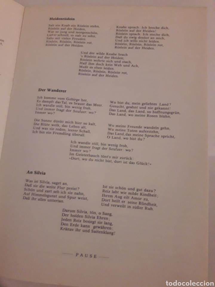 Coleccionismo: Teresa Berganza Berlin Hans Adler Pro musica 1975 - Foto 3 - 127798388