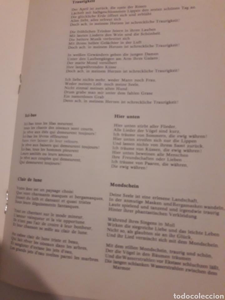Coleccionismo: Teresa Berganza Berlin Hans Adler Pro musica 1975 - Foto 4 - 127798388