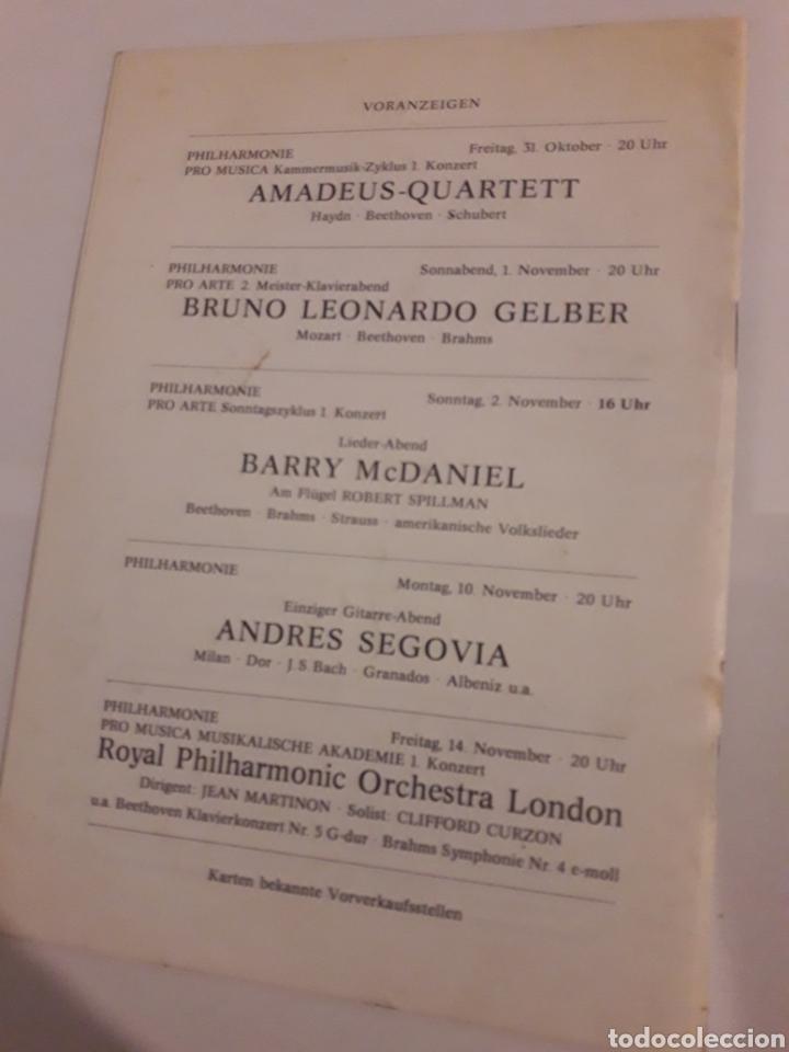 Coleccionismo: Teresa Berganza Berlin Hans Adler Pro musica 1975 - Foto 5 - 127798388