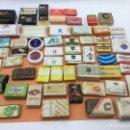 Coleccionismo: LOTE DE 59 MINI PASTILLAS DE JABON DE HOTELES, LINEAS AEREAS, ETC. LOTE Nº1. Lote 127820451