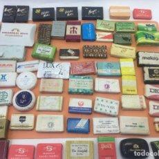 Coleccionismo: LOTE DE 50 Ó 60 PASTILLAS DE MINI JABONES DE HOTELES, LINEAS AEREAS, ETC. LOTE Nº2. Lote 127823359