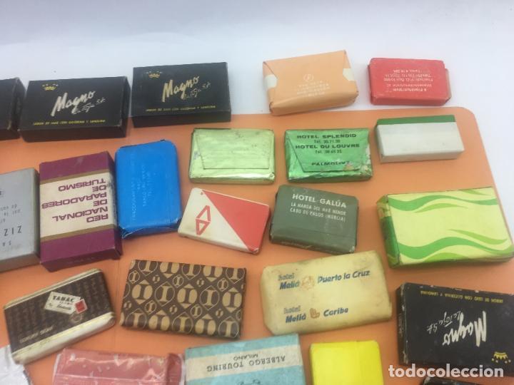 Coleccionismo: LOTE DE 50 Ó 60 PASTILLAS DE MINI JABONES DE HOTELES, LINEAS AEREAS, ETC. LOTE Nº2 - Foto 14 - 127823359