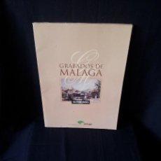 Coleccionismo: GRABADOS DE MALAGA - 21 LAMINAS EN CARPETA - PRENSA DIARIO EL MUNDO Y UNICAJA. Lote 127852311