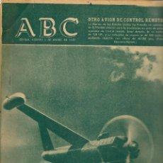 Coleccionismo: ABC. Nº 17269. AVIÓN DE CONTROL REMOTO. 2 ENERO 1959. (ST/MG/BL4). Lote 128227191