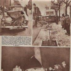 Coleccionismo: AÑO 1960 RECORTE PRENSA PUBLICIDAD MUERTE ALBERT CAMUS ACCIDENTE COCHE CARRETERA BORGOÑA. Lote 128368743