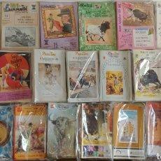Coleccionismo: 400(+O-)PROGRAMAS DE MANO ¡¡21 AÑOS!! TOROS FERIA SAN ISIDRO. Lote 128546059