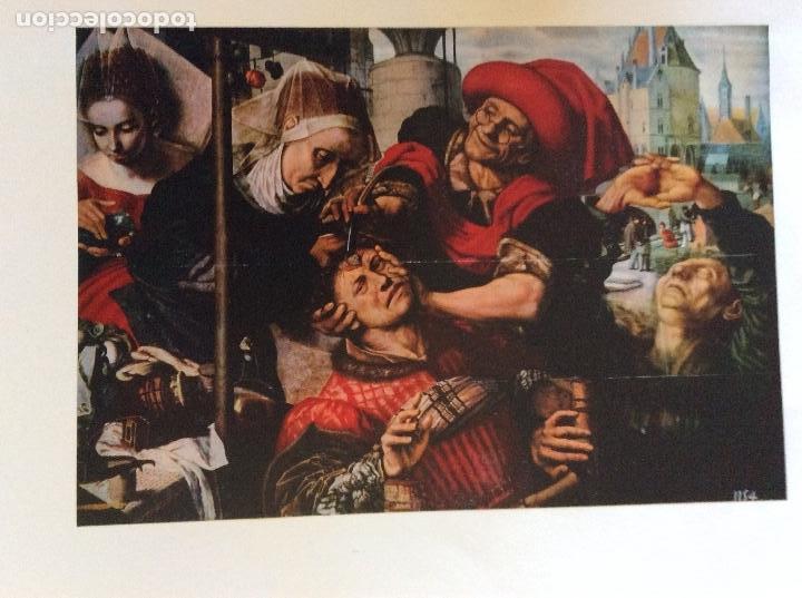 Coleccionismo: LA MEDICINA A TRAVES DE LOS MUSEOS I TOMO PRADO, 9 LAMINAS - Foto 5 - 128802931