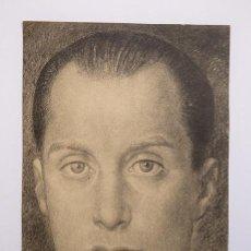 Coleccionismo: JOSÉ ANTONIO PRIMO DE RIVERA - RETRATO IMPRESO EN HUECOGRABADO, AÑOS 1940. TAMAÑO 21 X 15 CM.. Lote 128827115