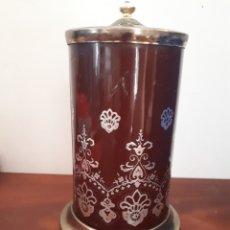 Coleccionismo: ANTIGUA PITILLERA CIGARRERA CON MÚSICA EL PADRINO. Lote 128951114