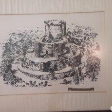 Coleccionismo: CUADRO CASTILLO ESPAÑA. Lote 128988531