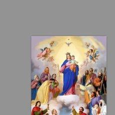 Coleccionismo: AZULEJO 40X25 DE MARÍA AUXILIADORA. Lote 139392277