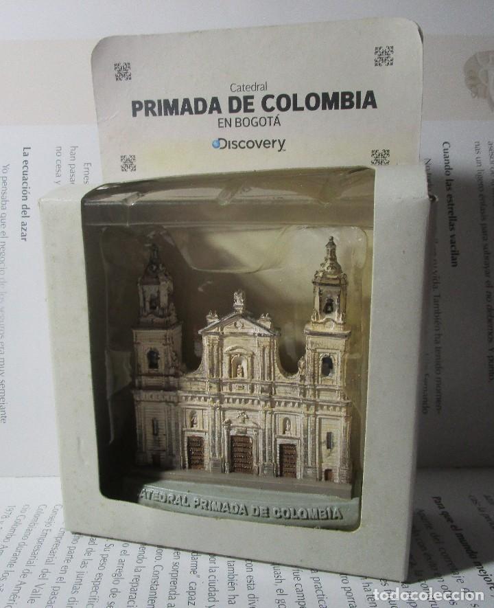 Coleccionismo: Figura Tipo Antigua Catedral Primada De Colombia Bogota Escala Coleccion Discovery - Foto 2 - 129172167
