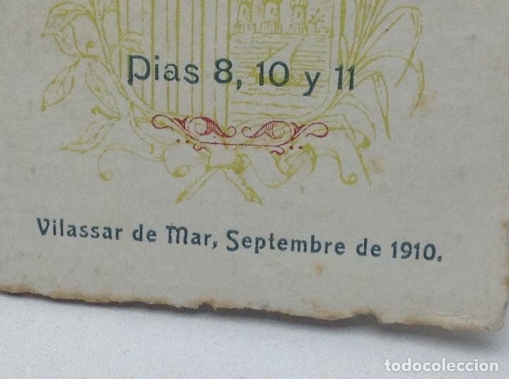 Coleccionismo: VILASSAR DE MAR - FESTA DE MONTSERRAT ANY 1910 - Foto 2 - 129226987