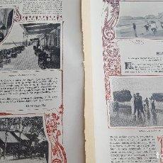 Coleccionismo: VERANEO DE 1901 EN BIARRITZ. Lote 129232111