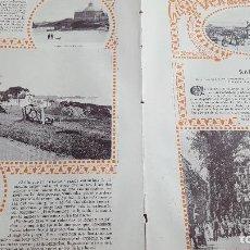 Coleccionismo: VERANEO DE 1901 EN SANTANDER EL SARDINERO EN LA BAHÍA DE SANTANDER. Lote 129232263