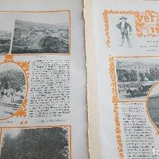 Coleccionismo: VERANEO DE 1901 EN VILLALBA GUADARRAMA LA PORQUERIZA REAL DE SAN ILDEFONSO EL ESCORIAL Y CERCEDILLA . Lote 129232395