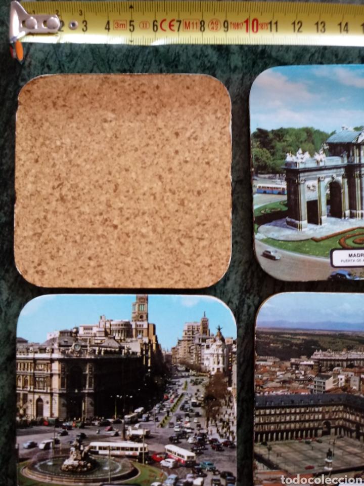 Coleccionismo: Lote de posavasos vintage souvenir de Madrid de los 60 ó 70 - Foto 2 - 129290639
