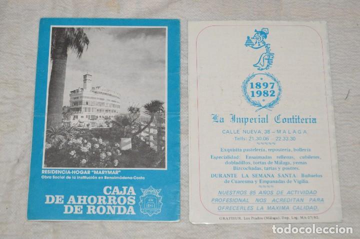 Coleccionismo: GRAN LOTE DE 24 PROGRAMAS DE SEMANA SANTA DE MÁLAGA - DE LOS AÑOS 80 Y 90 - ENVÍO 24H - Foto 3 - 129472351