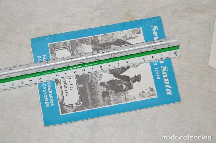 Coleccionismo: GRAN LOTE DE 24 PROGRAMAS DE SEMANA SANTA DE MÁLAGA - DE LOS AÑOS 80 Y 90 - ENVÍO 24H - Foto 4 - 129472351