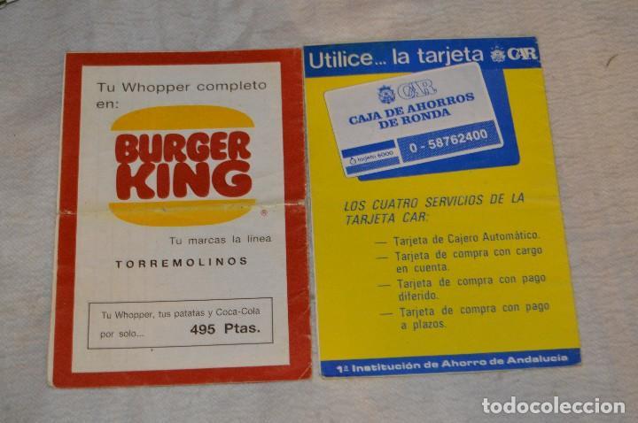 Coleccionismo: GRAN LOTE DE 24 PROGRAMAS DE SEMANA SANTA DE MÁLAGA - DE LOS AÑOS 80 Y 90 - ENVÍO 24H - Foto 6 - 129472351