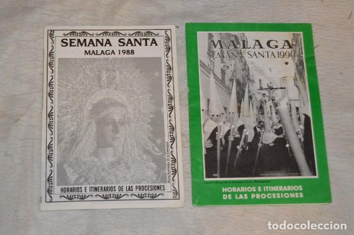 Coleccionismo: GRAN LOTE DE 24 PROGRAMAS DE SEMANA SANTA DE MÁLAGA - DE LOS AÑOS 80 Y 90 - ENVÍO 24H - Foto 7 - 129472351