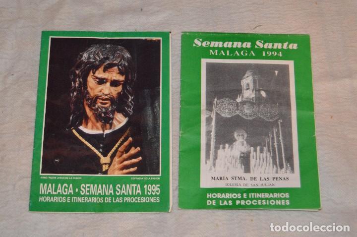 Coleccionismo: GRAN LOTE DE 24 PROGRAMAS DE SEMANA SANTA DE MÁLAGA - DE LOS AÑOS 80 Y 90 - ENVÍO 24H - Foto 11 - 129472351