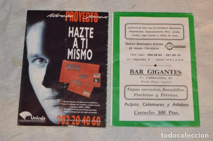 Coleccionismo: GRAN LOTE DE 24 PROGRAMAS DE SEMANA SANTA DE MÁLAGA - DE LOS AÑOS 80 Y 90 - ENVÍO 24H - Foto 12 - 129472351