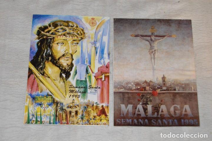 Coleccionismo: GRAN LOTE DE 24 PROGRAMAS DE SEMANA SANTA DE MÁLAGA - DE LOS AÑOS 80 Y 90 - ENVÍO 24H - Foto 13 - 129472351