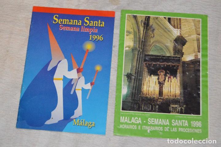 Coleccionismo: GRAN LOTE DE 24 PROGRAMAS DE SEMANA SANTA DE MÁLAGA - DE LOS AÑOS 80 Y 90 - ENVÍO 24H - Foto 15 - 129472351