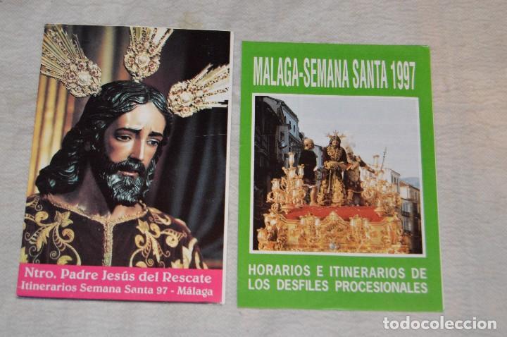 Coleccionismo: GRAN LOTE DE 24 PROGRAMAS DE SEMANA SANTA DE MÁLAGA - DE LOS AÑOS 80 Y 90 - ENVÍO 24H - Foto 21 - 129472351