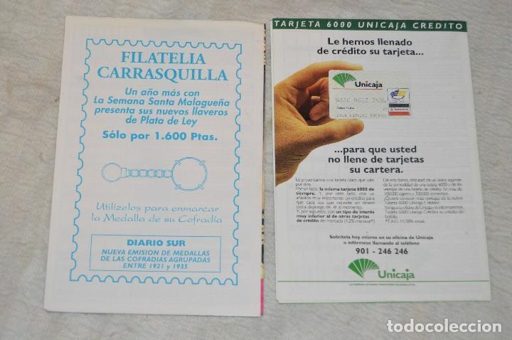 Coleccionismo: GRAN LOTE DE 24 PROGRAMAS DE SEMANA SANTA DE MÁLAGA - DE LOS AÑOS 80 Y 90 - ENVÍO 24H - Foto 22 - 129472351