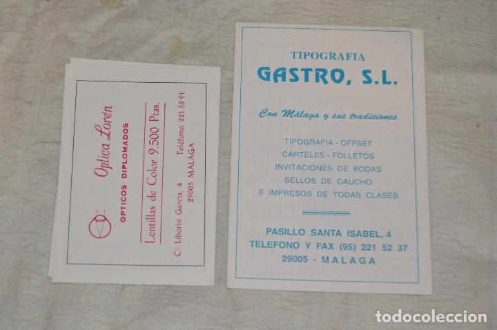 Coleccionismo: GRAN LOTE DE 24 PROGRAMAS DE SEMANA SANTA DE MÁLAGA - DE LOS AÑOS 80 Y 90 - ENVÍO 24H - Foto 24 - 129472351