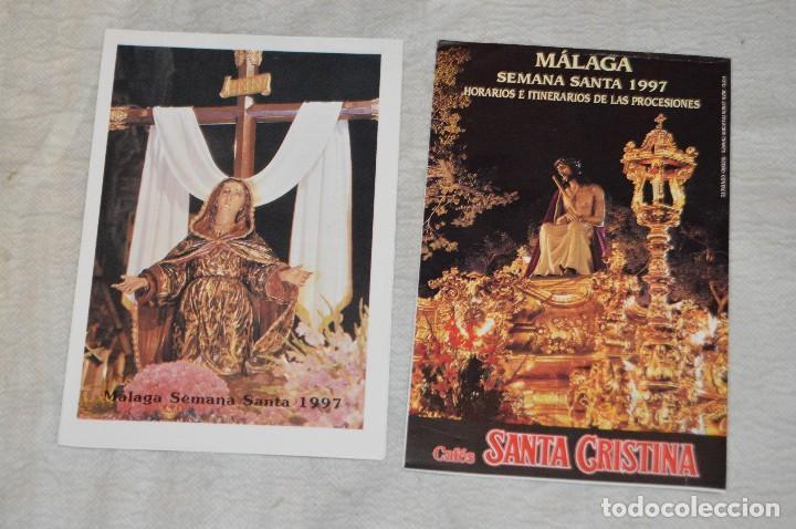 Coleccionismo: GRAN LOTE DE 24 PROGRAMAS DE SEMANA SANTA DE MÁLAGA - DE LOS AÑOS 80 Y 90 - ENVÍO 24H - Foto 25 - 129472351