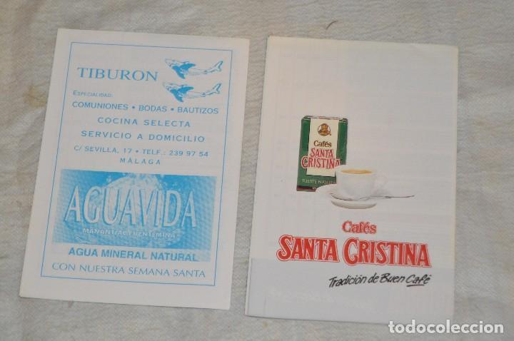 Coleccionismo: GRAN LOTE DE 24 PROGRAMAS DE SEMANA SANTA DE MÁLAGA - DE LOS AÑOS 80 Y 90 - ENVÍO 24H - Foto 26 - 129472351